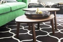 Decoración / En su mayoría con cosas del Ikea...ideas para la casa!