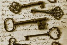 old forgotten keys / by Dianne Ripley