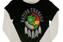 Women's Tees / An assortment of women's, juniors and ladies tees on Native Threads.