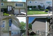 Vinyl Siding / Energy Savers Vinyl Windows Inc. has achieved #1 Dealer of the Year 9 years in a row. Our reputation of not carrying a good or better window, but only the best, giving each and every customer in the best price and best product at the Best Price Guaranteed. We offer bay windows, bow windows, casement windows, garden windows, double hung windows, & slider windows. We also offer patio doors, gutters, soffits and any replacement windows. One of our best sellers is our vinyl siding.