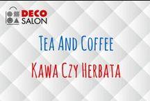 Kawa czy herbata / Tea and coffee design w DECOSALON / Czajniki, zaparzacze, kubki, termosy, podgrzewacze, mleczniki, dozowniki, cukiernice i wiele innych akcesoriów.   #tea #coffee #kawa #herbata #akcesoria #accessories #design #dizajn