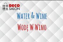 Wodę w Wino / Water & Wine in DECOSALON / Akcesoria na wodę i wino.  #water #wine #woda #wino #akcesoria #kuchnia #accessories #kitchen #design #dizajn