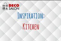Inspiration: Kitchen / Inspiracje kuchenne. #kitchen #design