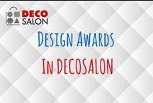 Design Awards in DECOSALON / Produkty nagrodzone m.in. RED DOT AWARD. #design