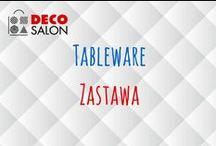 Zastawa / Tableware in DECOSALON / Talerze, sztućce - wszystko co jest potrzebne, żeby stworzyć niepowtarzalną zastawę stołową :)