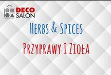 Przyprawy i zioła / Herbs & Spices / Akcesoria, pojemniki, dozowniki do przypraw i ziół w DECOSALON.