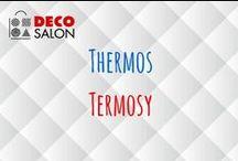 Termosy / Thermos in Decosalon / Termosy, kubki termiczne, akcesoria trzymające ciepło