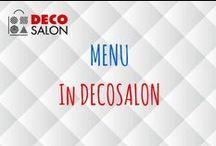 Menu in Decosalon