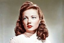 GENE TIERNEY 1920-1991 / Gene Eliza Tierney (November 19, 1920 – November 6, 1991) was an American film and stage actress. Acclaimed as one of the great beauties of her day, Tierney acted in the title role of Laura (1944)Leave Her to Heaven (1945), Heaven Can Wait (1943), The Razor's Edge (1946), The Ghost and Mrs. Muir (1947), Whirlpool (1949), The Mating Season (1951) and The Left Hand of God (1955). / by JonesGirl💫