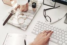 WORK FROM HOME / The prettiest home office decor to boost productivity.