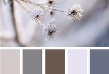 Paletas / Paleta de cores para ambientes