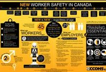 Health & Safety Infographics / Great health and safety infographics from CCOHS and around the web.