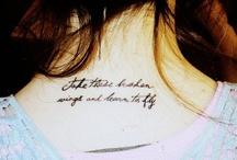 Tattoos / by Eliz
