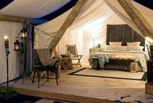Glamping / Glamping is any form of various luxury form of camping. Enjoy!