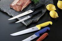 Victorinox Kasap Bıçakları / Şef ve Kasap Bıçakları, Bileme Aletleri, Kesilmez Eldivenler Victorinox kalitesi ile