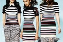 Stripes / Righe / Knitwear with different types of stripes. Maglieria con righe diverse.