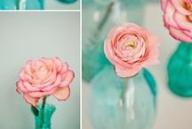 Peach and Aqua Wedding Ideas