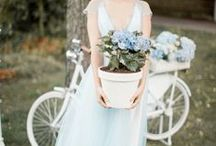 Powder Blue and White Wedding Ideas