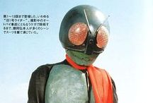 Kamen Rider / I see you too like japanese bugmen. / by No Nope