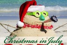 Christmas in July / The last weekend in July, Santa's coming to NSR! There will be prizes for best decorated campsite. Here's some inspiration to get you started. Make reservations at www.naturalspringsresort.com