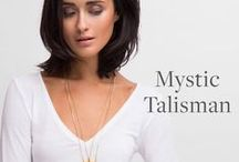 Mystic Talisman Collection / The Mystic Talisman Collection features a limited-edition selection of ancient and traditional symbols designed to bring you Luck, Strength and Love. Each is 22K gold-dipped and cast from an original Sequin illustration. Make a meaningful statement with these substantial necklaces - layer for ultimate effect and positive energy! Designed & handcrafted in the USA with components from around the world.