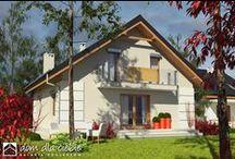 Projekty domów / Gotowe projekty domów jednorodzinnych z wizualizacjami wnętrz.
