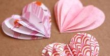 Valentine's Craft Creations / Get creative with these love able paper-based crafts. The perfect Valentine's craft inspiration, from fun laminating ideas to shredded art, ideal for little ones & older ones alike!