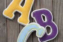 Crochet - Alphabet / Crochet