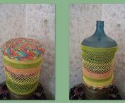 Crochet - Cover Gallons of Water - by Arie Rachmawati / Crochet