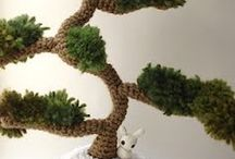 Crochet - Amigurumi Bonsai Tree