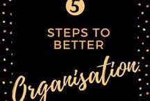 Decluttering, Shredding and Organisation