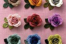Crochet - Flower 2 (Roses)