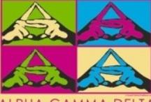 Alpha Gam for life! / by Emily Brady