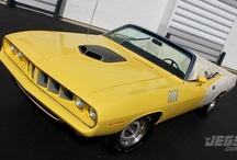 JEGS Featured Car - 1971 Hemi 'Cuda Convertible