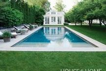 Pool Paradise / Be the hero of the house—and the neighborhood—with a beautiful pool and outdoor oasis.