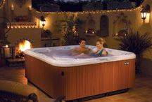 Spa and Hot Tub Inspiration / Spas and hot tubs provide a bit of heaven on earth. Find design inspiration and useful tips for caring for your hot tub.