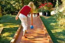 Outdoor Fun & Games / Activities, crafts and inspiration to make your outdoor living space fun for friends and family.