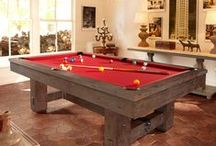 Billiards /  At Watson's of Cincinnati, you can explore our huge inventory of top-quality tables and our wide selection of billiard and rec-room accessories. With everything you need to suit your style, you're ready to cue up the fun for family, friends and guests, or even a little table time on your own.
