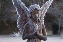 Concrete Angels & Cemetery Art