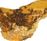 Soddyite 09.AK.05 / SILICATES (Germanates) | Structures de Nésosilicates (tétraèdre d'isolement) | Néso- & polysilicates d'uranyle ► (UO2)2SiO4•2(H2O)