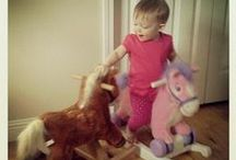 Rockin' Rider Kids / Pictures of happy and excited kids riding their favorite Rockin' Rider toys!