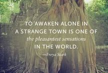 Travel Quotes / Inspirational travel quotes