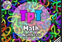 TpT ❤ Math (Numbers) / TpT ❤ Math (Numbers): Looking for Math teaching resources for the Primary or Elementary classroom? This board contains pins on a mixture of TeachersPayTeachers products, teaching tools, activities, freebies, ideas, tips and blog posts. ❤ If you would like to be added as a collaborator, please follow the board and email me your Pinterest details at contact@jewelpastor.com. Please limit pinning to 10 pins a day, and make them a combination of products and ideas/freebies.