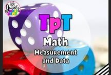 TpT ❤ Math (Measurement and Data) / TpT ❤ Math: Looking for Math teaching resources for the Primary or Elementary classroom? This board contains pins on a mixture of TeachersPayTeachers products, teaching tools, activities, freebies, ideas, tips and blog posts. ❤ If you would like to be added as a collaborator, please follow the board and email me your Pinterest details at contact@jewelpastor.com. Please limit pinning to 10 pins a day, and make them a combination of products and ideas/freebies.
