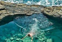Natural swimming pools....