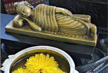 Buddha Love! / Buddha décor, Indian home decor