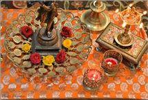 Indian Festivals / Indian Festivals décor, Navratri Décor, Diwali Décor, Indian ethnic décor, Colourful décor for Indian festivals