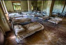 Abandoned mental hospitals