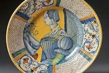 European Porcelain Ceramics & Faience