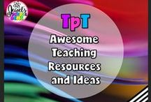 TPT ❤ Awesome Teaching Resources and Ideas / TPT ❤ Awesome Teaching Resources and Ideas ❤ This is a collaborative board for AWESOME TpT sellers! ❤ If you would like to be added as a collaborator, please follow the board and email me your Pinterest details at contact@jewelpastor.com. ❤ If you're a collaborator, please limit pinning to 10 pins a day. Please pin a mix of TeachersPayTeachers products, teaching resources, teaching tools, activities, freebies, ideas, tips and blog posts.